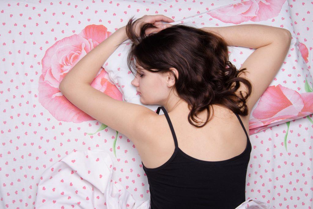 položaj spavanja